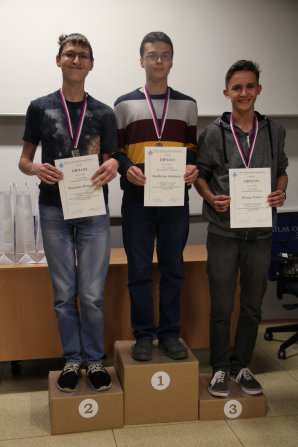 Vítězové kategorie CD 13. ročníku Astronomické olympiády. Autor: Vendula Doubravská, Astronomická olympiáda.