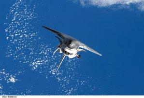 Raketoplán na oběžné dráze Autor: NASA