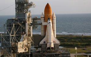 Raketoplán Atlanis před startem Autor: NASA