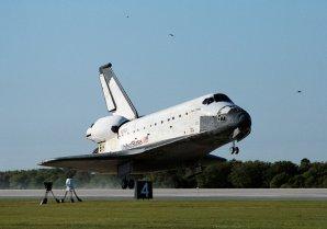 Přistání raketoplánu Columbia Autor: NASA