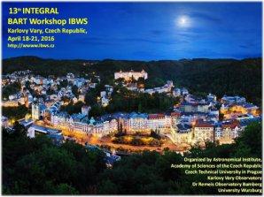 13. ročník Integral / Bart Workshop (IBWS) v Karlových Varech. Autor: Akademie věd ČR