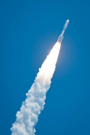 Start mise Juno raketou Atlas V v roce 2011 Autor: NASA