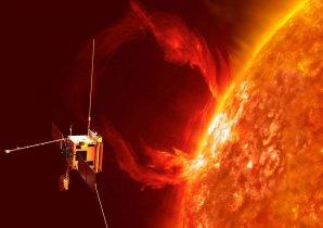 Vizualizace projektu Solar Orbiter. Autor: ESA.