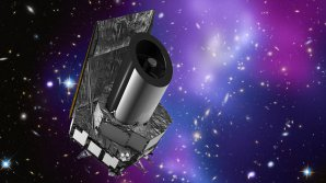 Vizualice kosmického teleskopu EUCLID. Autor: ESA.