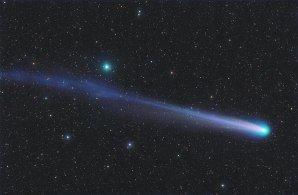 Snímek komety C/2013 R1 (Lovejoy) od Michaela Jägera Autor: Michael Jäger