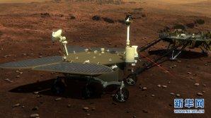 Čínská pojízdná laboratoř k výzkumu Marsu Autor: Xinhua