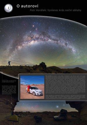 Z výstavy Sedm perel astronomie: Petr Horálek je vyslancem krás noční oblohy. Autor: Hvězdárna b. A. Krause Pardubice.