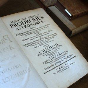 Johannis Hevelii - Prodromus Astronomiae z roku 1640 Autor: Pavel Uhrin