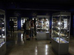 Hlavní expozice muzea v Jedrzejówě - sluneční hodiny Autor: Pavel Uhrin