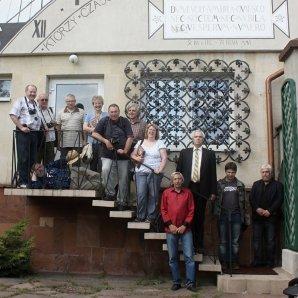 Společné foto účastníku zájezdu a našeho průvodce Autor: Pavel Uhrin
