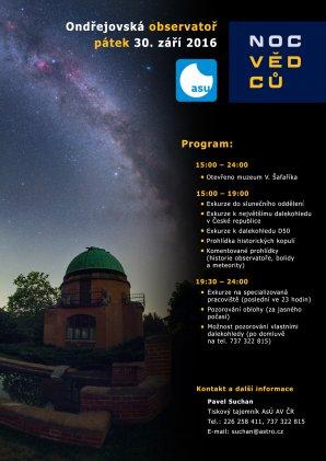 Noc vědců 2016 na observatoři v Ondřejově. Autor: AsÚ AV ČR