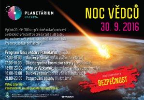 Noc vědců 2016 na Hvězdárně a planetáriu Johanna Palisy v Ostravě. Autor: Planetárium Ostrava.