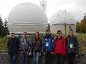 Čeští reprezenanti na observatoři Rozhen Autor: Václav Pavlík