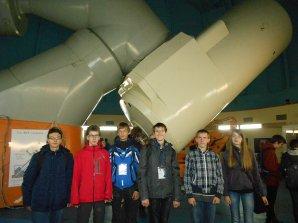 Čeští studenti u největšího bulharského dalekohledu Autor: Václav Pavlík