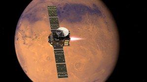 Sonda TGO vstupuje na oběžnou dráhu Marsu Autor: ESA