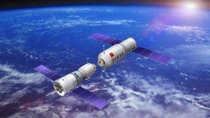 Tiangong-2 a kosmická loď Shenzhou-11 Autor: Xinhua