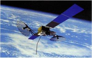 Vizualizace družice TDRS. Autor: NASA.