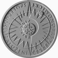 Rub pamětní mince ČNB ke 100 letům ČAS Autor: Česká národní banka