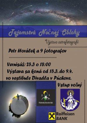 Výstava Tajomstvá nočnej oblohy v Púchově. Autor: Púchovský eko-astro klub.