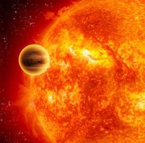 Umělecká představa exoplanety 51 Peg b Autor: NASA/JPL-Caltech