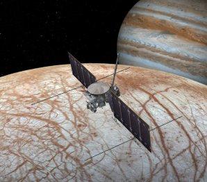 Koncept mise Europa Orbiter Autor: NASA/JPL-Caltech