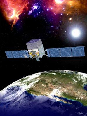 Družice Fermi pro oblast záření gama Autor: NASA