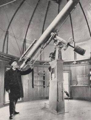 William R. Brooks u dalekohledu