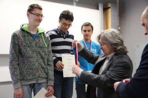 Ocenění vítězů Autor: Vendula Doubravská