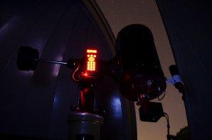 Pozorování proměnných hvězd v kopuli Autor: Martin Mašek