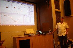 Přednáška Pavla Cagaše o fotometrii hvězd Autor: Martin Mašek