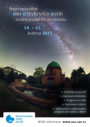Dny otevřených dveří na observatoři v Ondřejově 19. - 21. května 2017. Autor: AsÚ AV ČR
