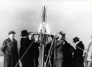 Očenáškovy pokusy s raketami Autor: New Mexico Museum od Space History