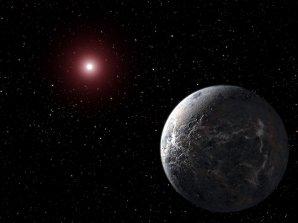 Nejstudenější exoplaneta OGLE-2005-BLG-390Lb Autor: ESO, CC BY-SA