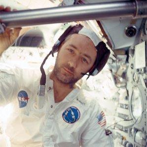 James McDivitt jako velitel Apolla 9 Autor: wikipedia