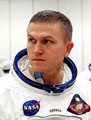 Frank Borman v den startu Apolla 8 Autor: wikipedia