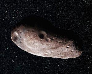 Možný vzhled cílového tělesa 2014 MU69 – jedno těleso Autor: NASA/Johns Hopkins University APL/SwRI/Alex Parker