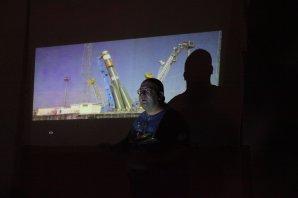 Astronomický tábor 2017: Tomáš Přibyl komentuje online přenos startu kosmické lodi Sojuz Autor: Jihlavská astronomická společnost
