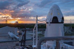 Testovací prototyp lodě Crew Dragon Autor: SpaceX - flickr