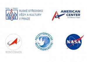Loga spolupořádajících institucí Autor: Hvězdárna a planetárium Praha