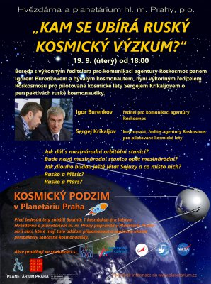 Kam se ubírá ruský kosmický výzkum? Autor: Hvězdárna a planetárium Praha