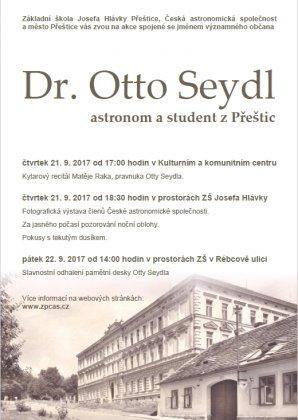 Odhalení pamětní desky Otto Seydla Autor: Josef Jíra