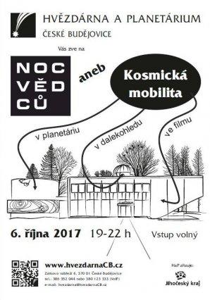 Noc vědců 2017 na HaP České Budějovice Autor: Hvězdárna a planetárium České Budějovice
