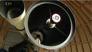Pardubický primární dalekohled je svého druhu 2. největší veřejně zpřístupněný v ČR. Autor: ČT - Toulavá kamera