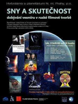 Ruské filmy v planetáriu Praha Autor: Hvězdárna a planetárium Praha