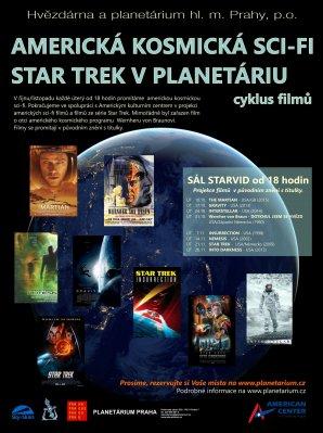 Americké filmy v Planetáriu Praha Autor: Hvězdárna a planetárium Praha