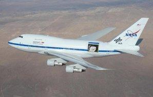 Na palubě létající observatoře SOFIA je dalekohled o průměru 2,5 m Autor: NASA