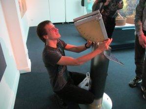 Příprava českého týmu na 11. IOAA v přirodovědné expozici muzea v Dubaji Autor: Jan Kožuško