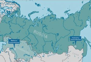 "Poloha kosmodromu Vostočnyj ""zmátla"" raketový stupeň Fregat Autor: globalsecurity.org"
