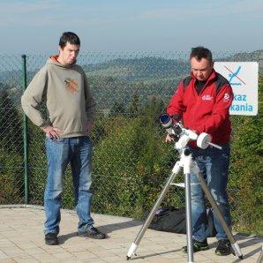 Příprava dalekohledu Lunt na pozorování Slunce Autor: Jaromír Ciesla