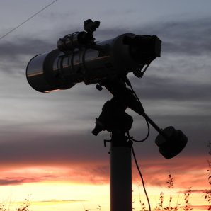 Refraktor 152/760 připraven na pozorování Autor: Jaromír Ciesla